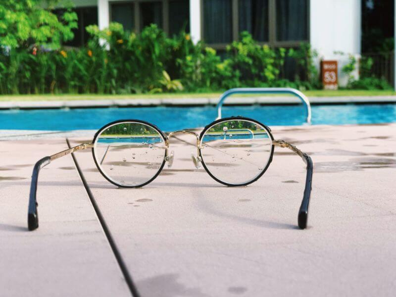 メガネの度があう